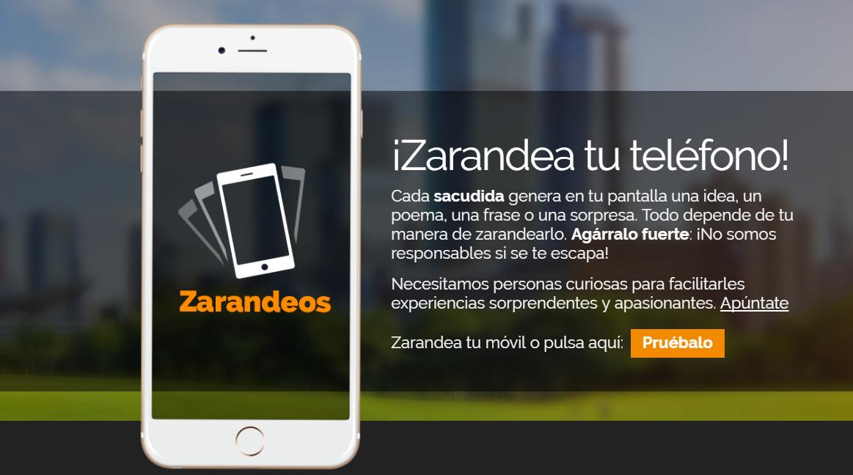 Zarandeos La App Que Tira Frases Al Sacudir El Smartphone