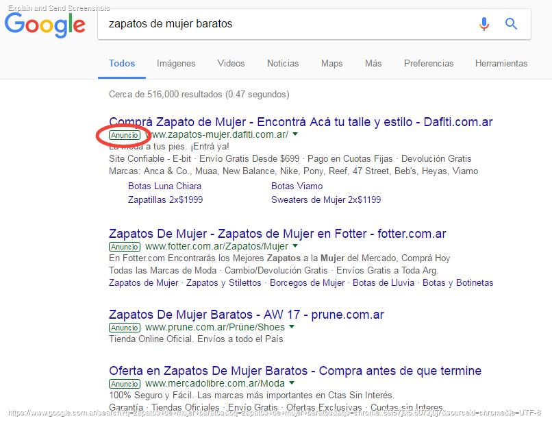 Buscar con Google - SEM