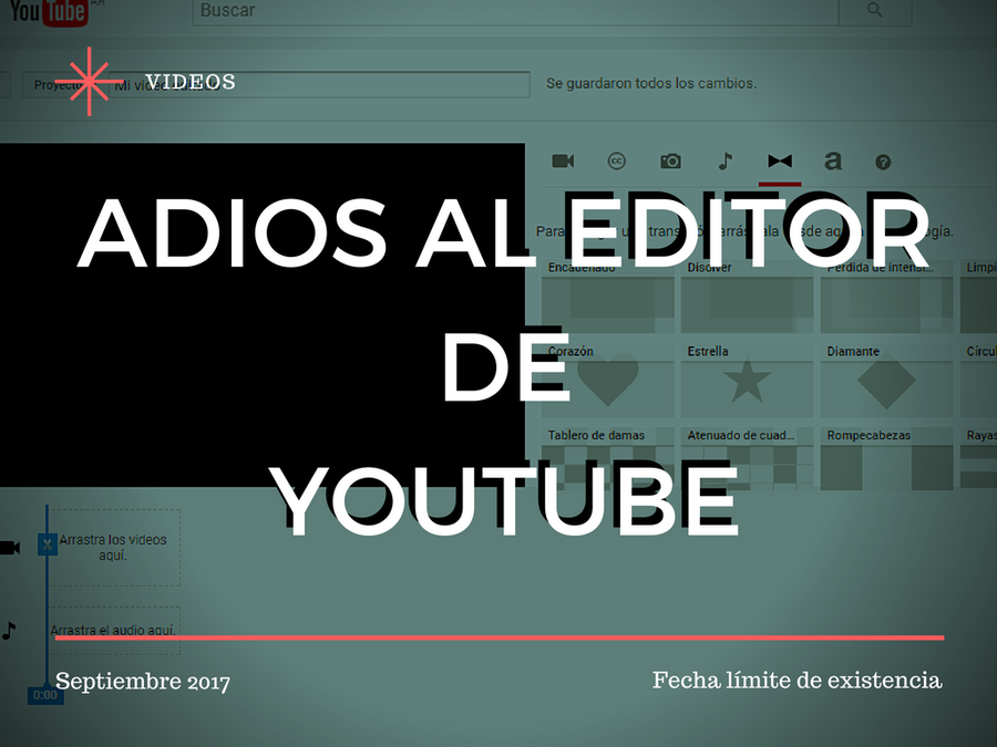 ADIOS AL EDITORDEYOUTUBE