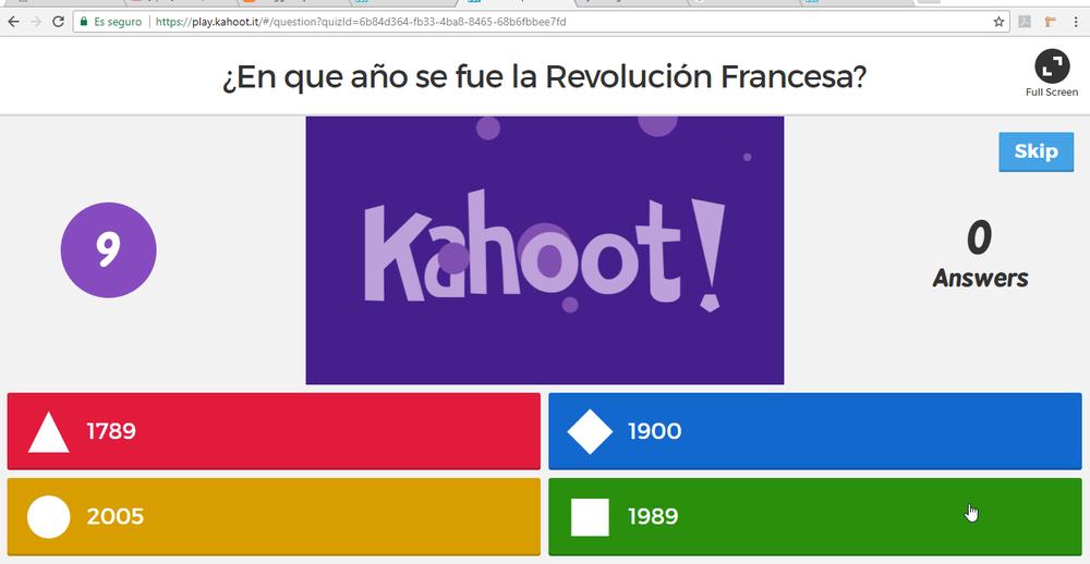 1Kahoot