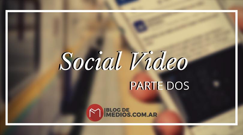 Formatos y secretos de la producción de videos para Redes sociales