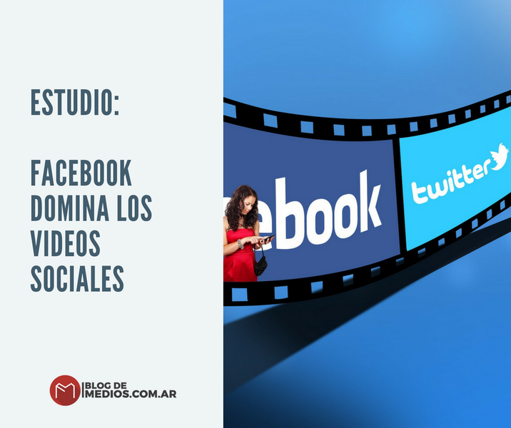 facebook domina los videos sociales