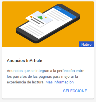 Anuncios In-Article